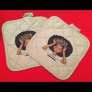 Other - Respect My Hair Pot Holders